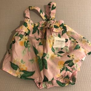 💝NWT baby girl Two Piece💝